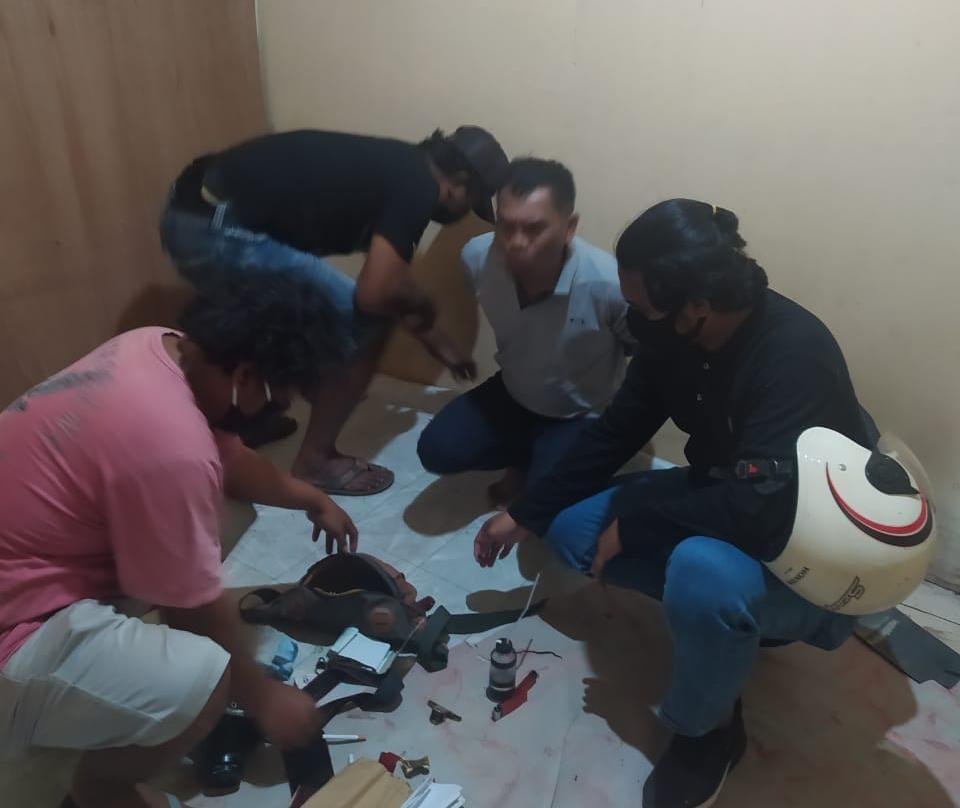 Mengaku Wartawan, Pria Paru Baya Ditangkap Satuan Intel Brimob Polda Kaltara