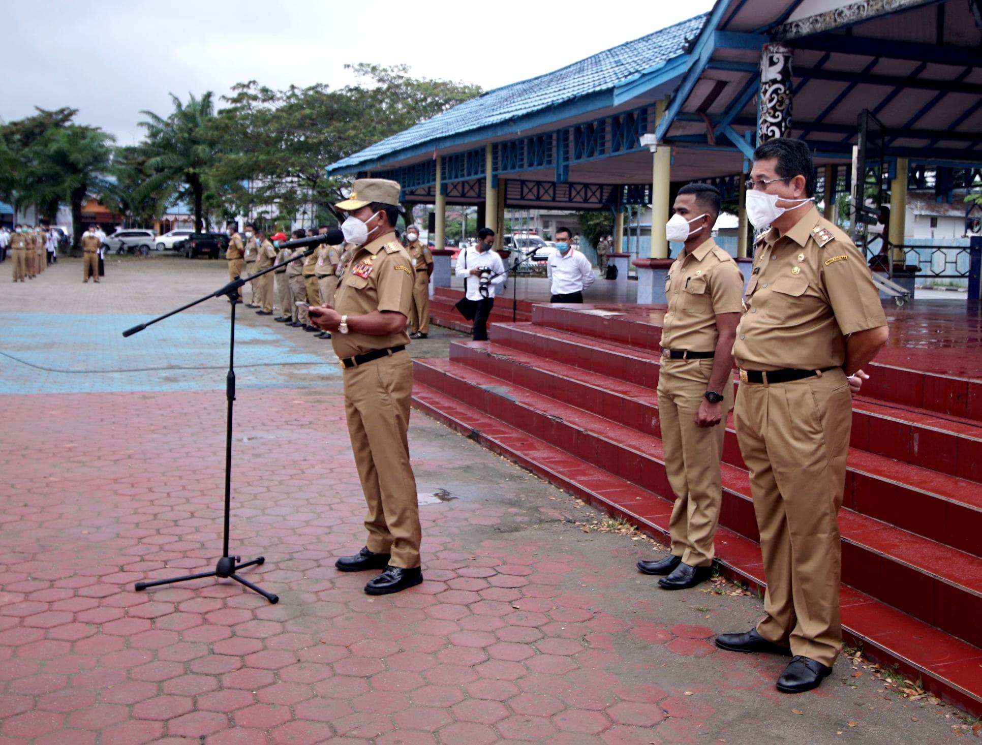 Gubernur Kaltara : Tidak Ada Lagi Titip Absen !!