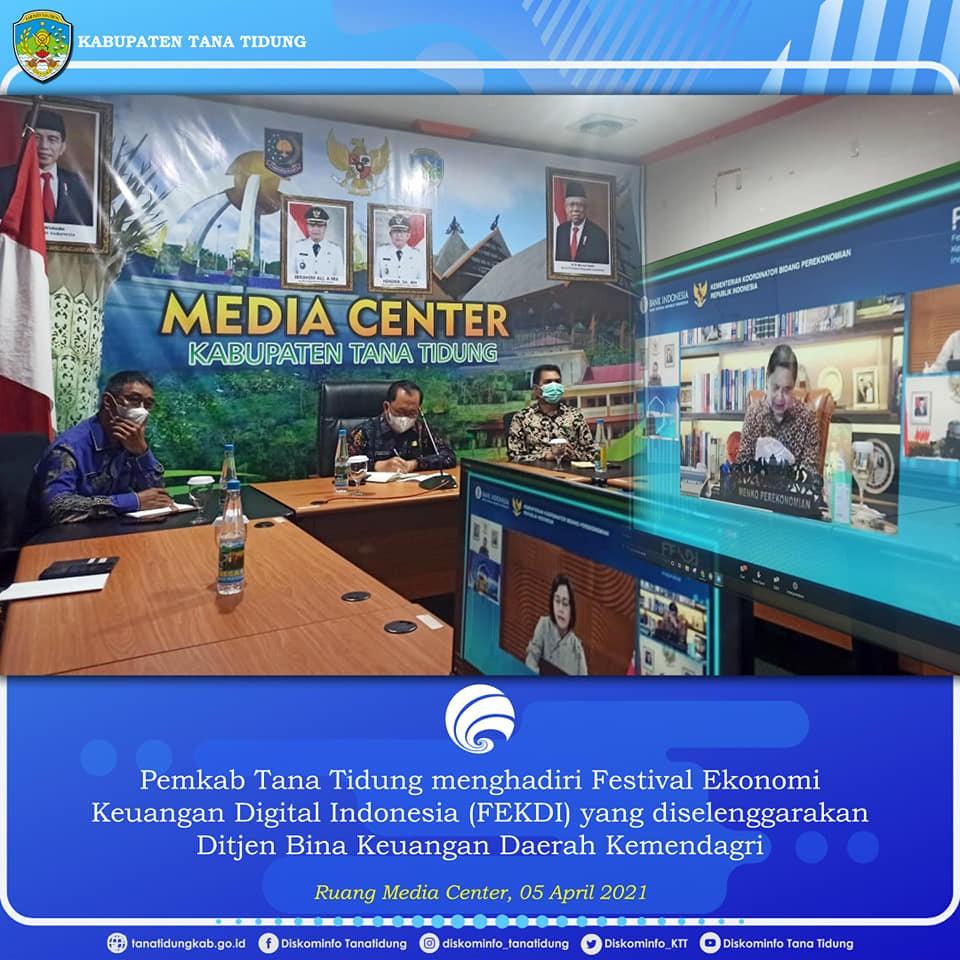 KTT Ikuti Festival Ekonomi Keuangan Digital Indonesia (FEKDI) 2021