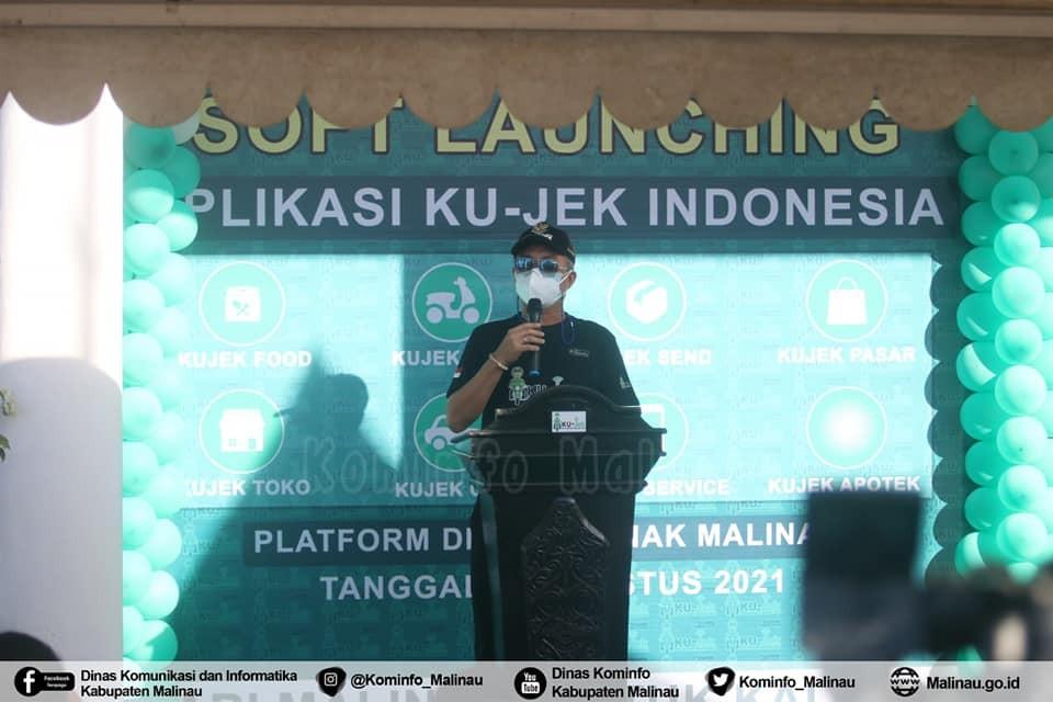 Soft Launching Aplikasi KU-JEK, Bupati Kenalkan Platform Digital Milenial Malinau