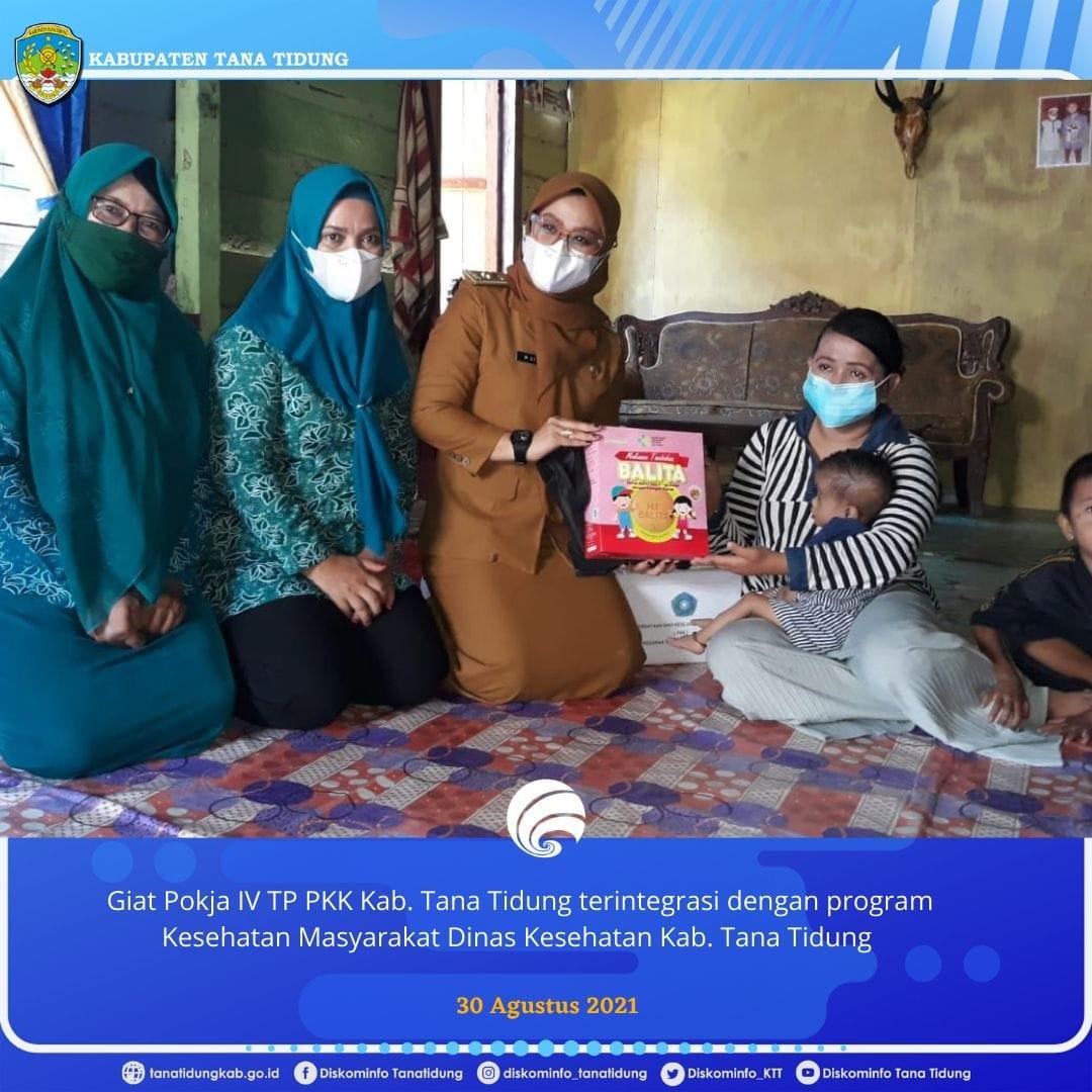 Giat Pokja IV TP PKK Tana Tidung terintegrasi dengan Program Kesehatan Masyarakat Dinas Kesehatan