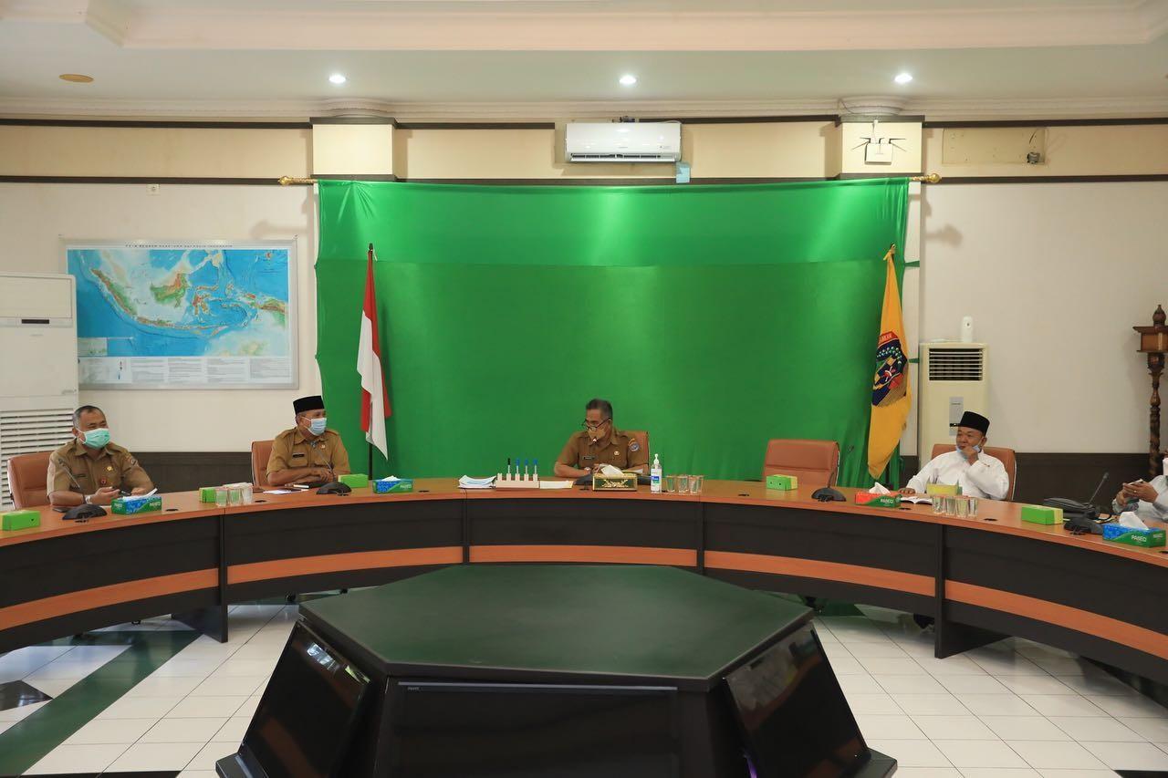 Walikota Pimpin Rakor Terkait Pendirian Rumah Ibadah di Kota Tarakan