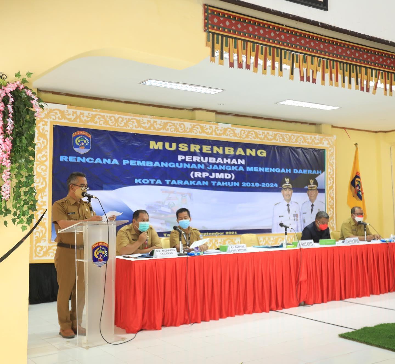 Walikota Tarakan Buka Musrenbang Perubahan RPJMD 2019-2024