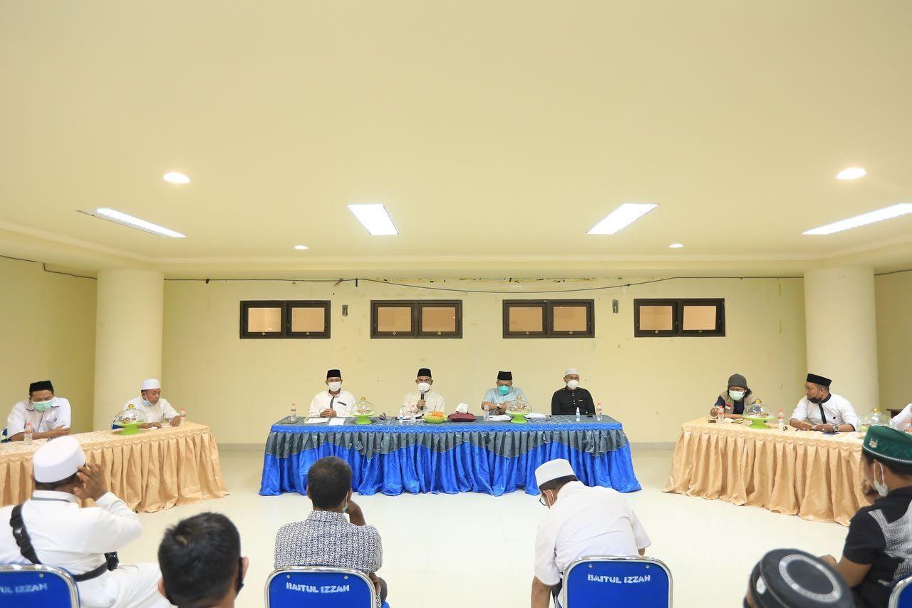Walikota Hadiri Rapat Pembahasan Pembenahan Baitul Izzah