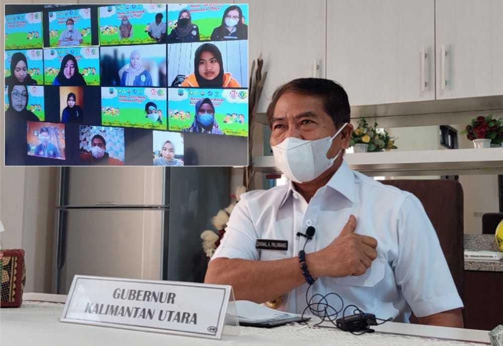 Gubernur Kaltara Imbau Anak-anak Daerah Harus jadi Contoh Penerapan Prokes