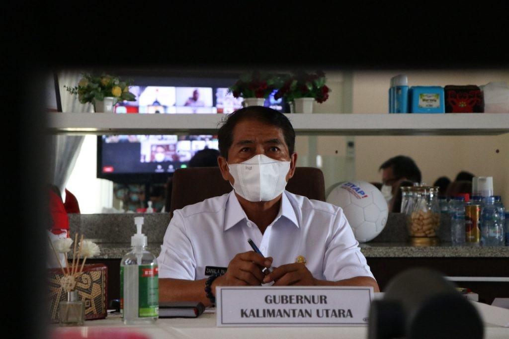 Gubernur Serius Amati Capaian Vaksinasi di Kaltara