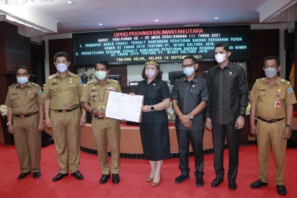 Raperda PT. Migas Kaltara Jaya Segera di Tindaklanjut ke Pusat