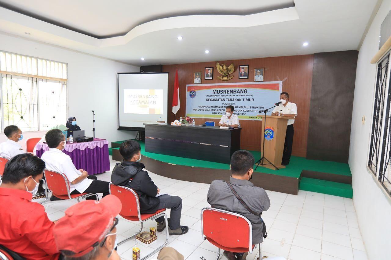 Hasil Musrenbang Tingkat Kecamatan Jadi Dokumen Untuk Usulan Anggaran 2022