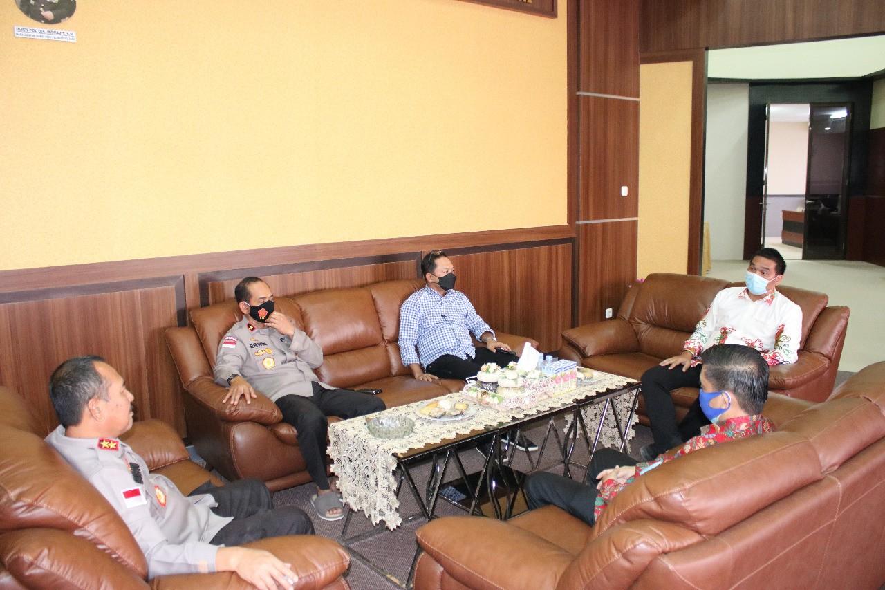 Kapolda Kaltara Terima Kunjungan Silahturahmi PGPI Provinsi Kaltara