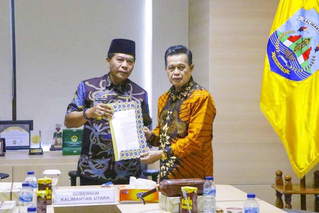 Bertemu Tokoh Masyarakat Bulungan, Gubernur Zainal Mau Berau Gabung ke Kaltara