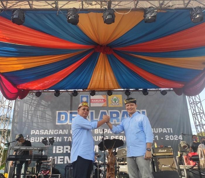 Deklarasi dan Pendaftaran Paslon Ke KPU, Ibrahim-Hendrik Optimis Menang | Tarakan TV