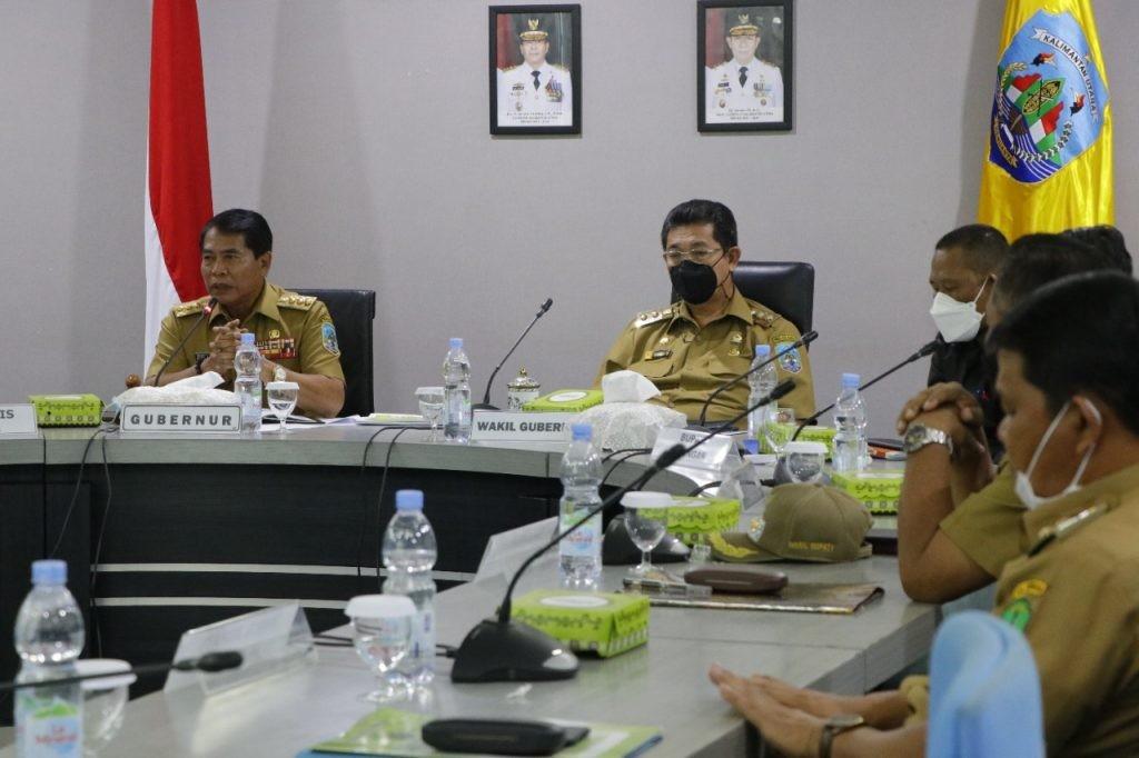 Gubernur Minta Pelepasan Lahan Adindo Untuk Pembangunan Daerah
