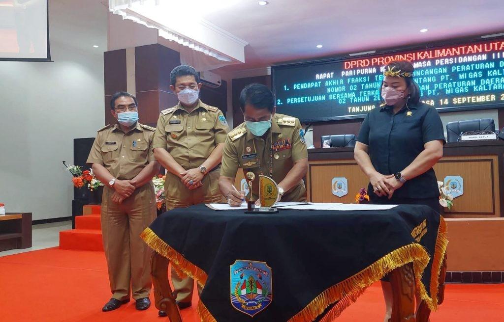 Gubernur Apresiasi Kinerja Pansus DPRD dalam Perubahan Perda Migas
