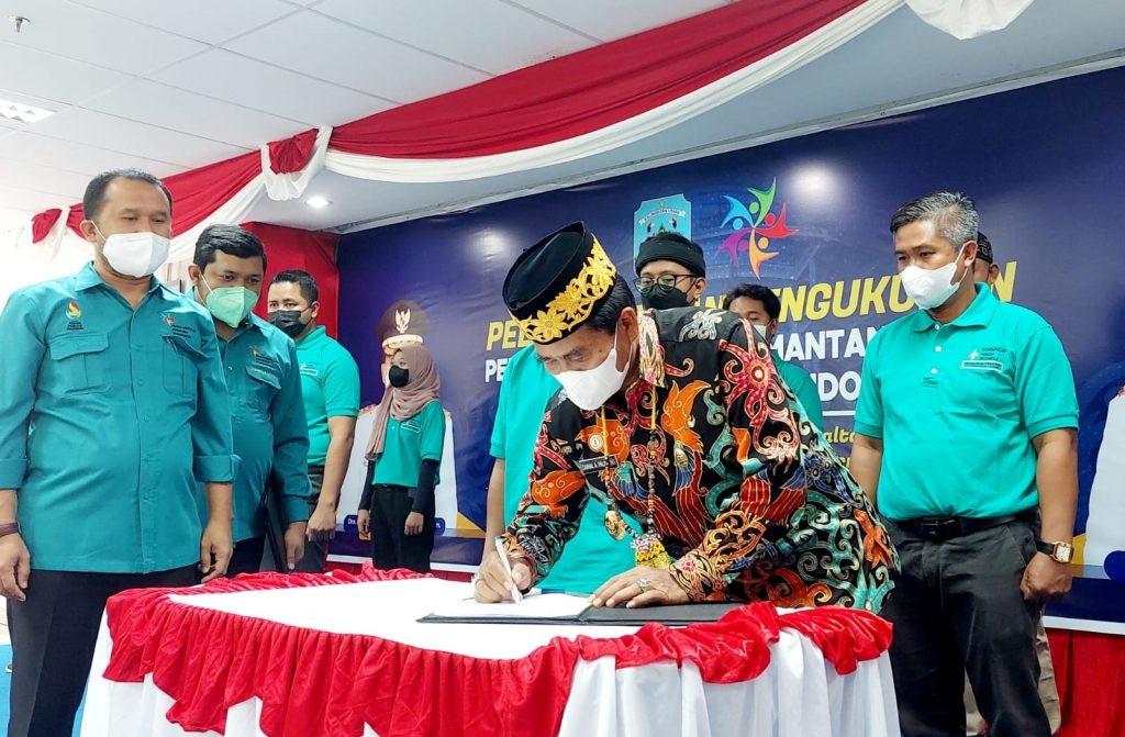 Gubernur Kaltara : Kembangkan Perkumpulan Pemuda Indonesia dengan Kreatifitas