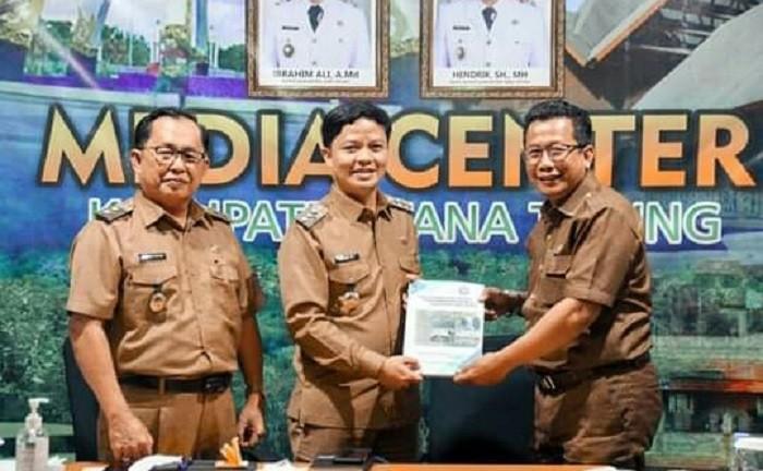 Ketemu Jajaran DPMPTSP Kaltara, Bupati KTT Harapkan Pemerataan Investasi   Tarakan TV