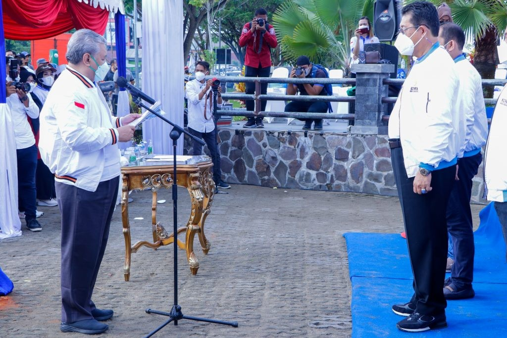 Wagub Yansen Resmi Pimpin KORMI Kaltara