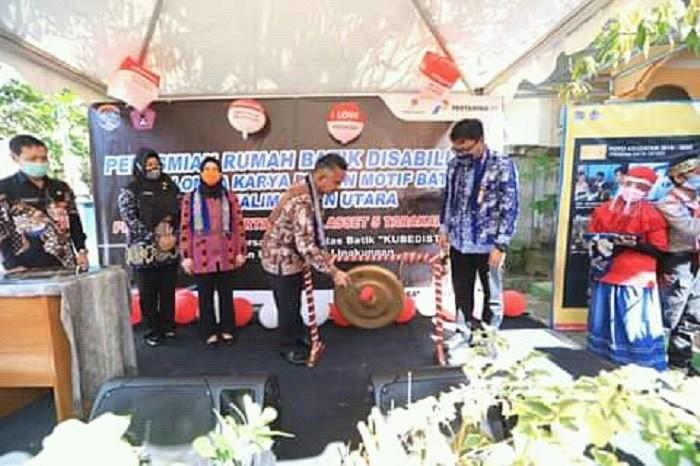 Peresmian Rumah Batik Disabilitas Kubedistik | Tarakan TV