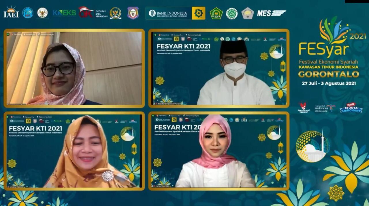 Talkshow FESyar KTI 2021  Sukses Bisnis Halal di Tengah Pandemi