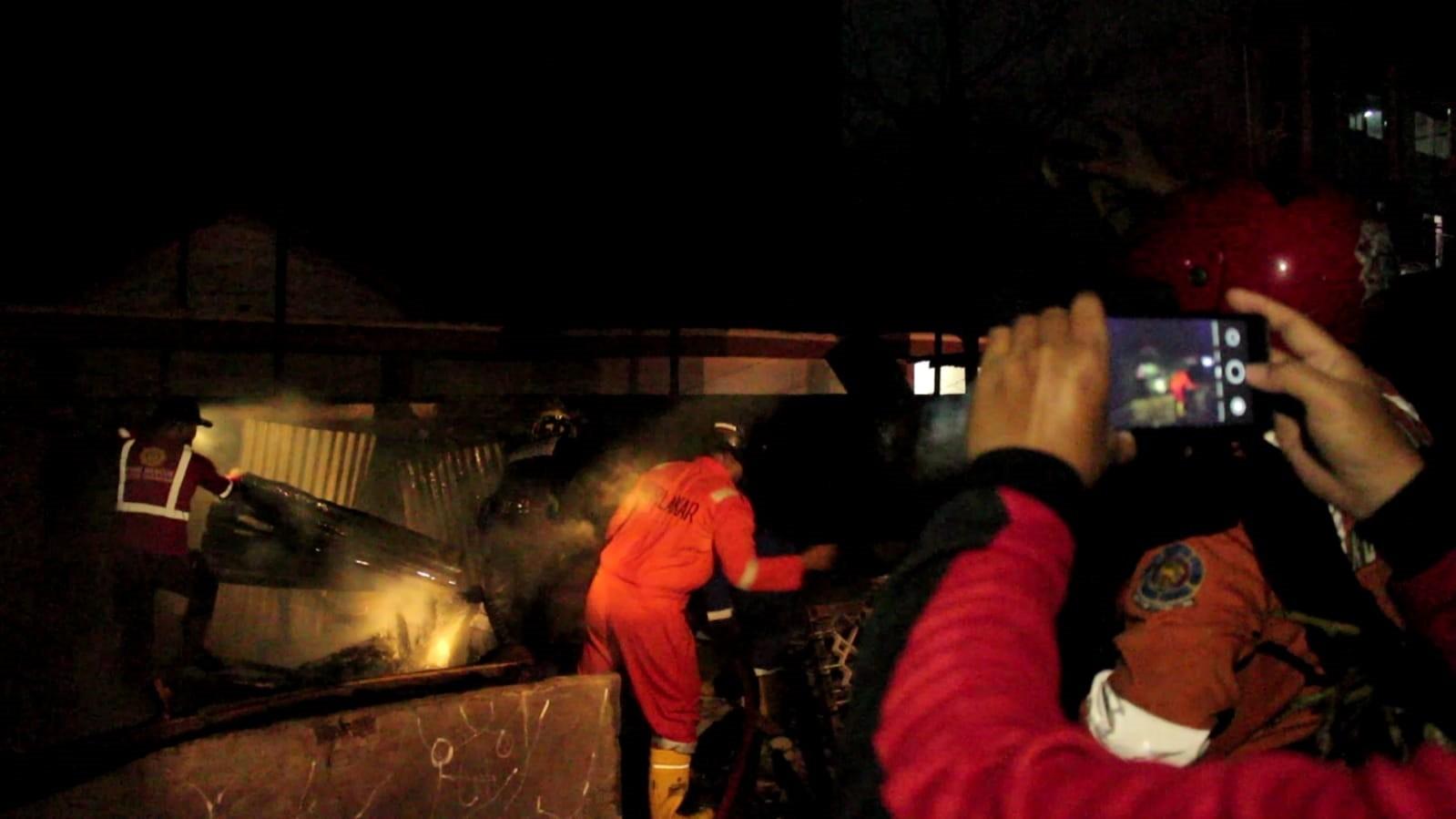 Polisi Masih Selidiki Penyebab Kebakaran Gudang Material Milik Juanda Lesmana